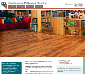 PPFFlooring website